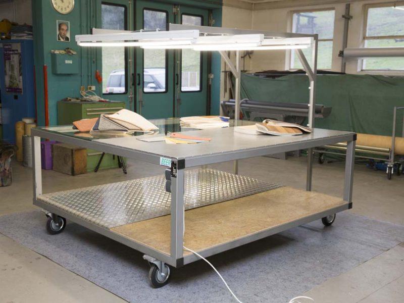 Präsentationstisch HB 200 BT