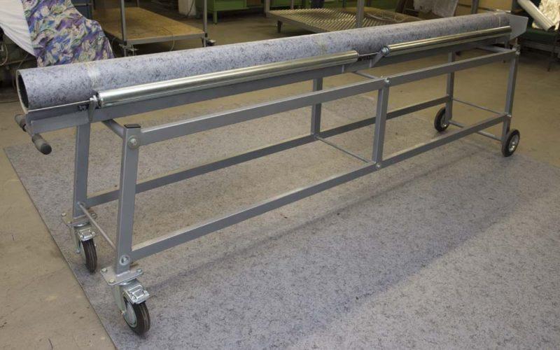 Transportwagen HB 300 zum Abrollen von 3 m breiten Belägen